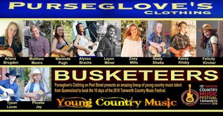 Busketeers - Tamworth Country Music Festival 2018