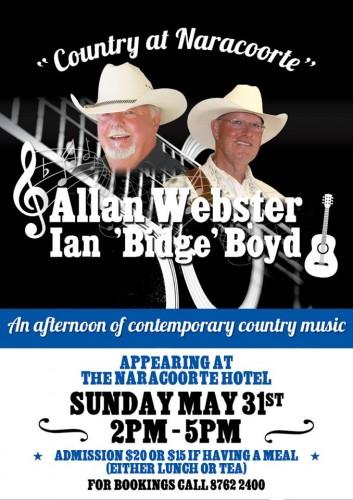 Allan Webster, Ian 'Bidge' Boyd @ Naracoorte Hotel | Naracoorte | South Australia | Australia