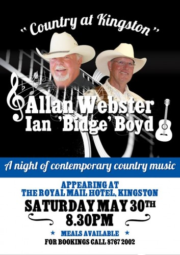 Allan Webster, Ian 'Bidge' Boyd @ Royal Mail Hotel | Kingston SE | South Australia | Australia