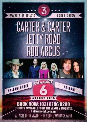 Roo Arcus, Carter & Carter, Jetty Road @ Hallam Hotel | Hallam | Victoria | Australia
