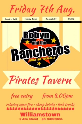 Robyn and the Rancheros @ Pirates Tavern | Williamstown | Victoria | Australia