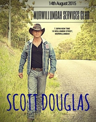 Scott Douglas @ Murwillumbah Services Club | Murwillumbah | New South Wales | Australia