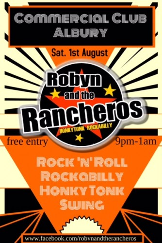 Robyn and the Rancheros @ Commercial Club Albury