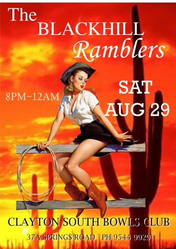 The Blackhill Ramblers @ Clayton South Bowling Club @ Clayton Bowling Bowling Club