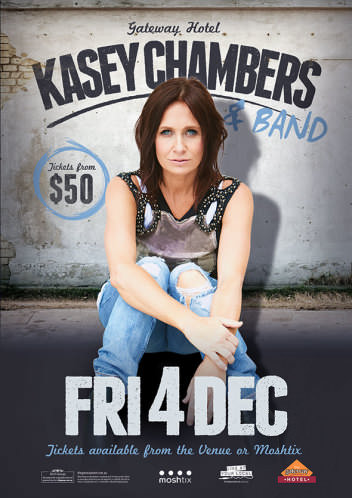 Kasey Chambers and Band @ Gateway Hotel | Corio | Victoria | Australia