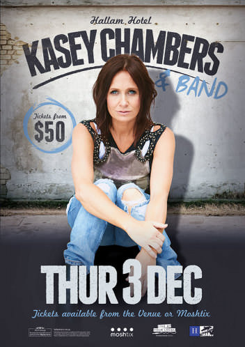 Kasey Chambers @ The Hallam Hotel