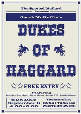 Dukes of Haggard @ Spotted Mallard | Brunswick | Victoria | Australia