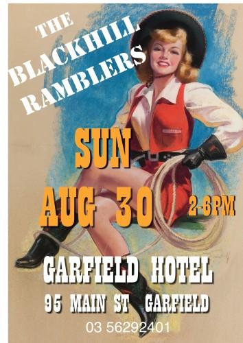 The Blackhill Ramblers @ Garfield Hotel @ Garfield Hotel