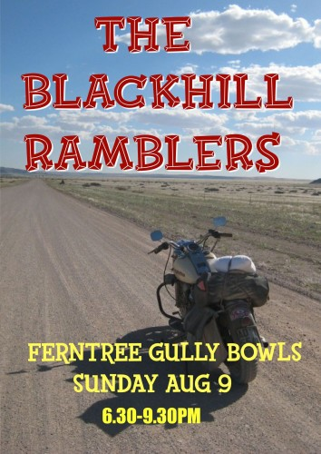 Th Blackhill Ramblers @ Ferntree Gully Bowling Club @ FernTree Gully Bowling Club