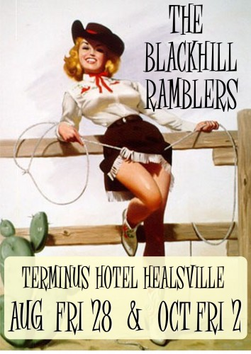 The Blackhill Ramblers @ Terminus Hotel Healsville @ Terminus Hotel Healesville   North Melbourne   Victoria   Australia