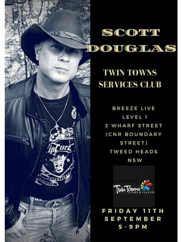 Scott Douglas @ Twin Town Services Club | Tweed Heads | New South Wales | Australia