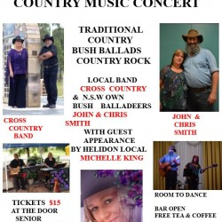 Helidon RSL Country Music Concert