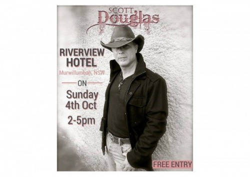 Scott Douglas @ Riverview Hotel | South Murwillumbah | New South Wales | Australia