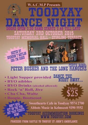 Toodyay Dance Night @ Sweethearts Cafe | Toodyay | Western Australia | Australia