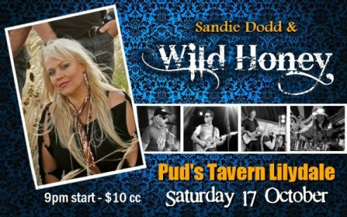 Sandie Dodd and Wild Honey @ Pud's Tavern | Lilydale | Victoria | Australia
