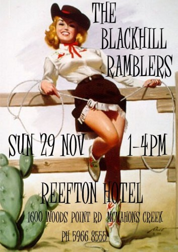 The Blackhill Ramblers @ The Reefton Hotel @ The Reefton Hotel